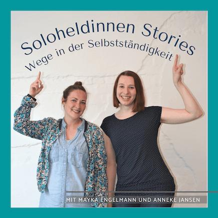 Podcast Cover Soloheldinnen Stories